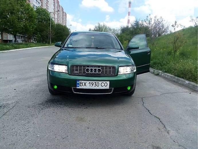 Седан Audi A4 2001 в Новомосковську