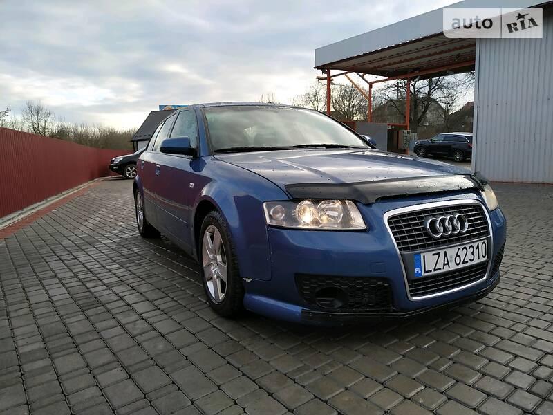 Audi A4 2003 в Залещиках