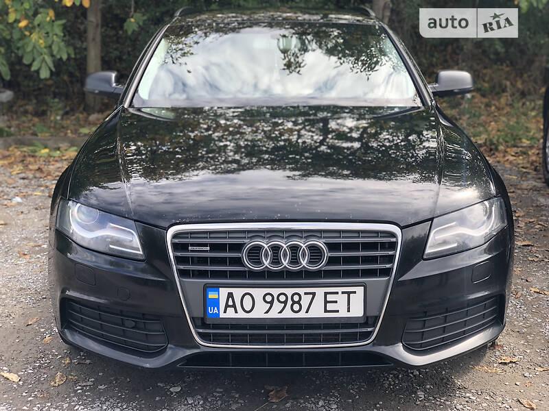 Audi A4 Audi a4 b8 quattro