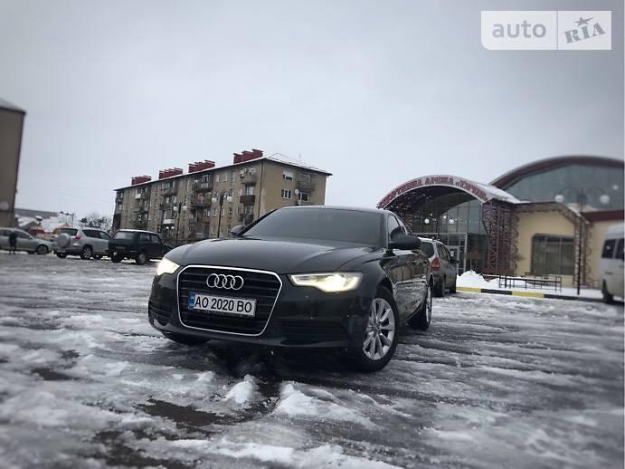 Audi A6 2012 года в Ужгороде
