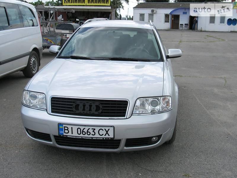 Универсал Audi A6 2004 в Кременчуге
