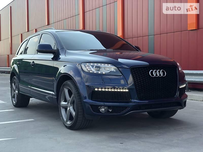 Audi Q7 2013 года в Киеве