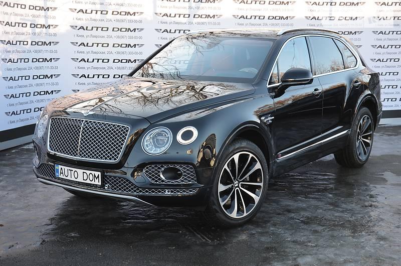 Bentley Bentayga 2017 года в Киеве