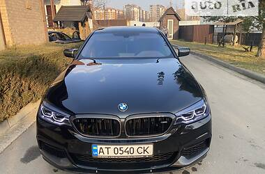 Седан BMW 540 2018 в Івано-Франківську