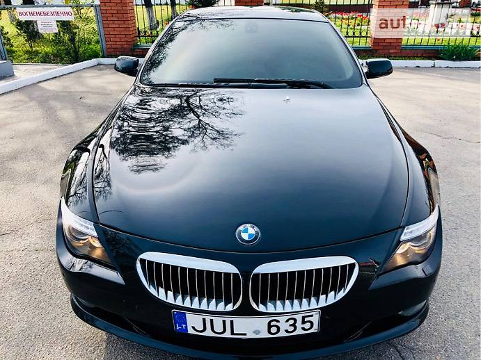 BMW 6 2009 года