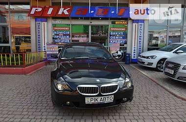 BMW 645 2004 в Львове