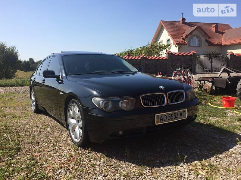 BMW 730 2003 в Ужгороде
