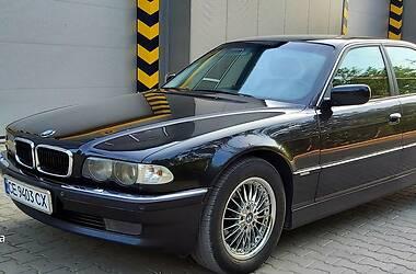 Седан BMW 740 2001 в Черновцах