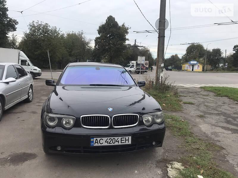 BMW 745 2001 в Луцке