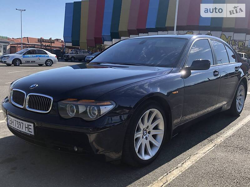 BMW 745 2003 в Одесі