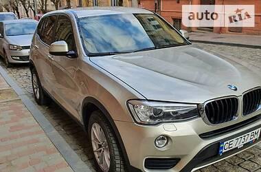 BMW X3 2015 в Черновцах