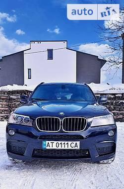 BMW X3 2012 в Ивано-Франковске