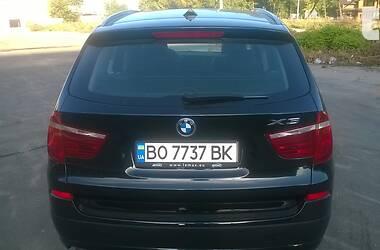 Позашляховик / Кросовер BMW X3 2014 в Тернополі