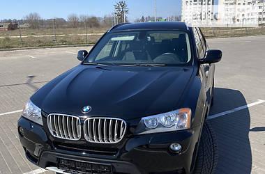 Внедорожник / Кроссовер BMW X3 2012 в Виннице