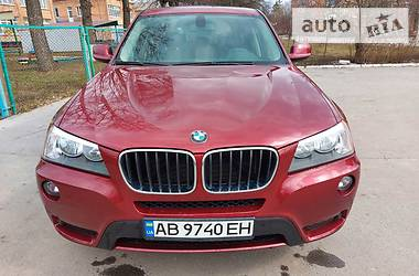 Внедорожник / Кроссовер BMW X3 2011 в Калиновке