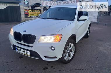 Внедорожник / Кроссовер BMW X3 2011 в Житомире