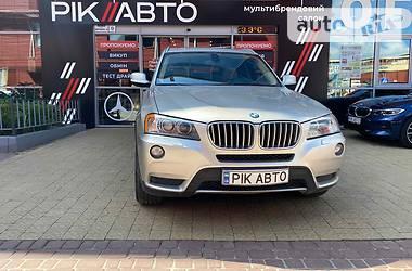 Внедорожник / Кроссовер BMW X3 2012 в Львове