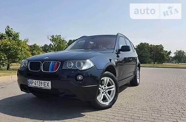 Внедорожник / Кроссовер BMW X3 2007 в Запорожье