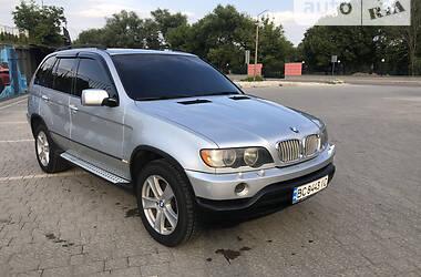 Позашляховик / Кросовер BMW X5 2002 в Трускавці