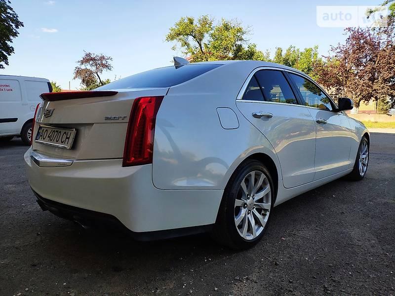 Cadillac ATS 2016 в Ужгороде