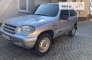 Внедорожник / Кроссовер Chevrolet Niva 2008 в Мукачево