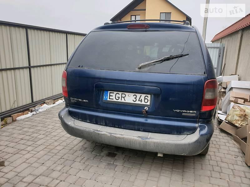 Chrysler Voyager 2000 в Каменец-Подольском