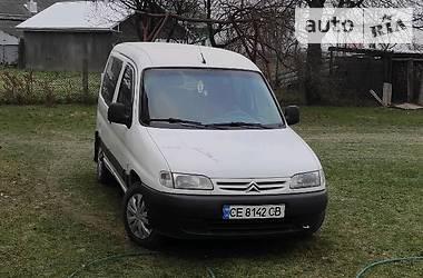 Минивэн Citroen Berlingo пасс. 2001 в Черновцах
