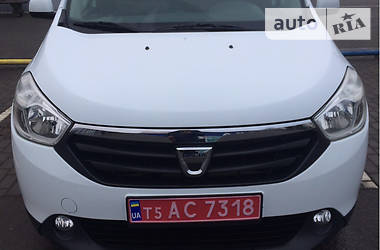 Dacia Lodgy 2015 в Луцке
