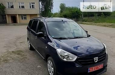 Минивэн Dacia Lodgy 2014 в Львове