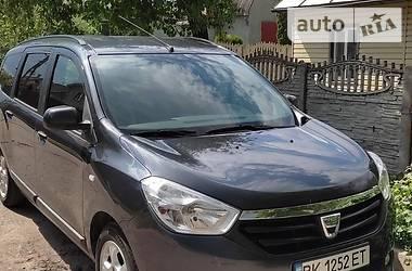 Минивэн Dacia Lodgy 2015 в Ровно