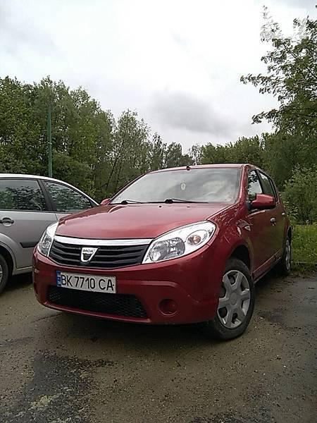 Dacia Sandero 2011 года в Львове
