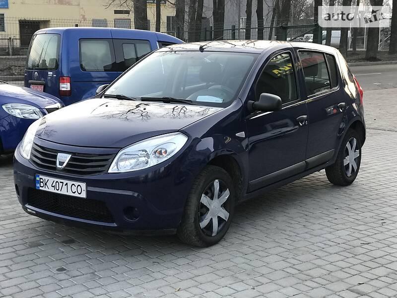 Dacia Sandero 2009 в Полтаве