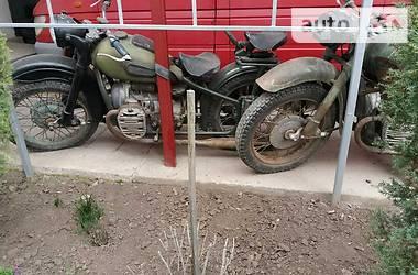 Мотоцикл с коляской Днепр (КМЗ) К 750 1958 в Заставной