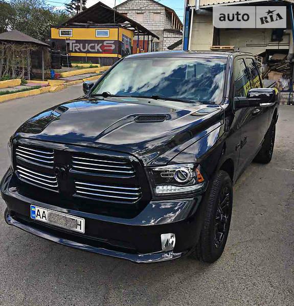 Dodge Ram 2016 года