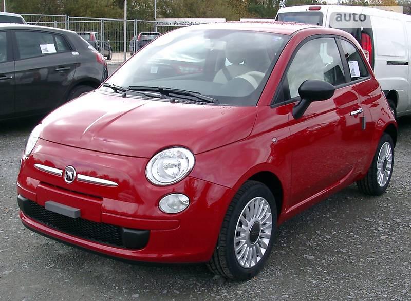 Fiat 500 2009 в Львові