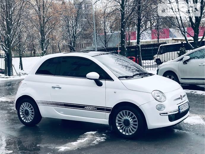 Fiat 500 2014 года в Киеве