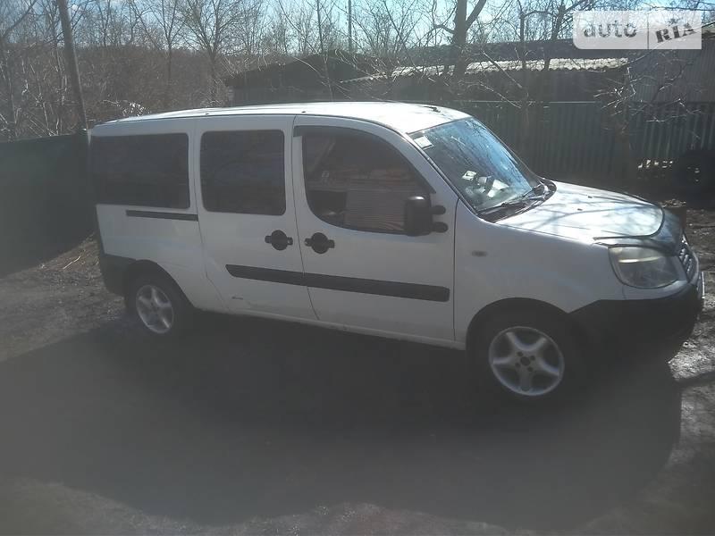 Інший Fiat Doblo груз.-пасс. 2006 в Могилів-Подільському