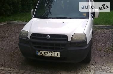 Fiat Doblo груз.-пасс. 2002 в Дрогобыче