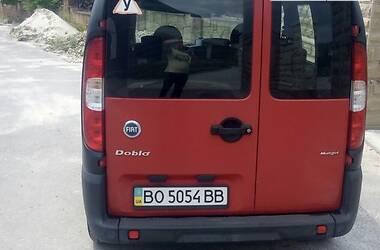 Пикап Fiat Doblo груз.-пасс. 2006 в Тернополе