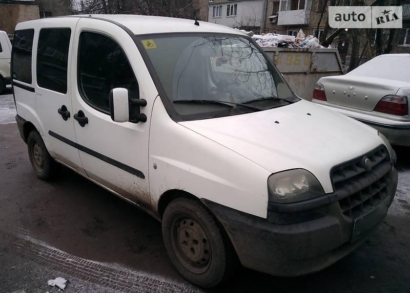 Fiat Doblo пасс. 2004 в Харькове