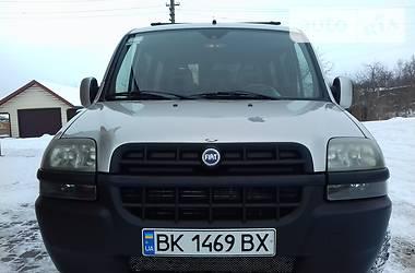 Fiat Doblo пасс. 2001 в Рокитном