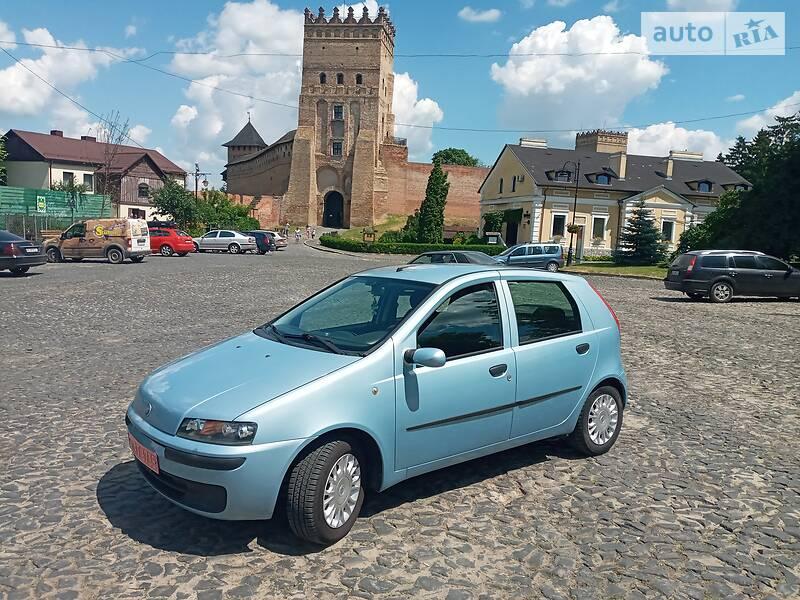 Хетчбек Fiat Punto 2003 в Луцьку