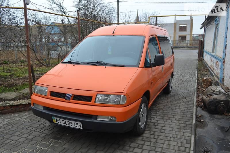Fiat Scudo пасс. 1999 в Приморске