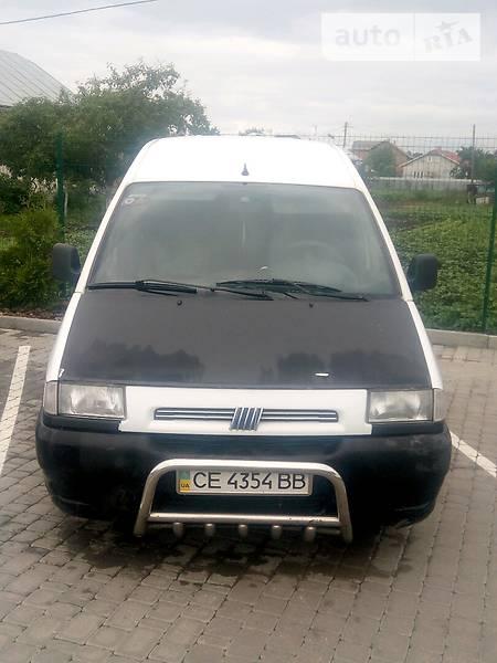 Fiat Scudo пасс. 1996 года в Черновцах
