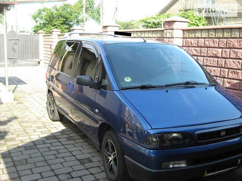 Минивэн Fiat Ulysse 2002 в Луцке