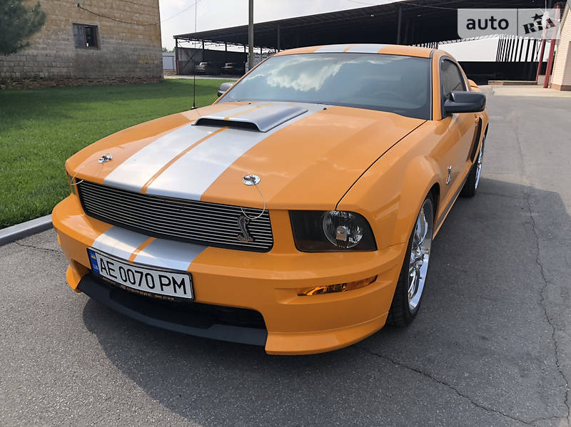Ford Mustang GT C Supercharged