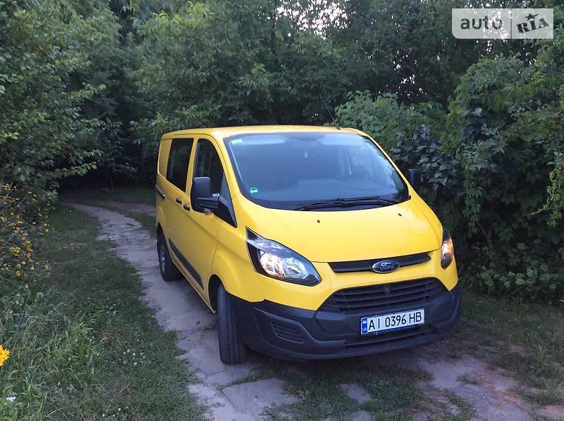 Легковой фургон (до 1,5 т) Ford Transit Custom груз. 2014 в Киеве