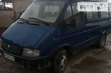 Микроавтобус (от 10 до 22 пас.) ГАЗ 3221 Газель 1999 в Одессе