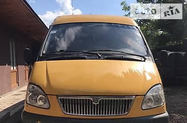 Микроавтобус (от 10 до 22 пас.) ГАЗ 322132 2004 в Сваляве