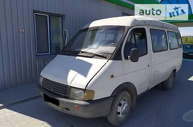 Легковой фургон (до 1,5 т) ГАЗ 32213 1997 в Теребовле